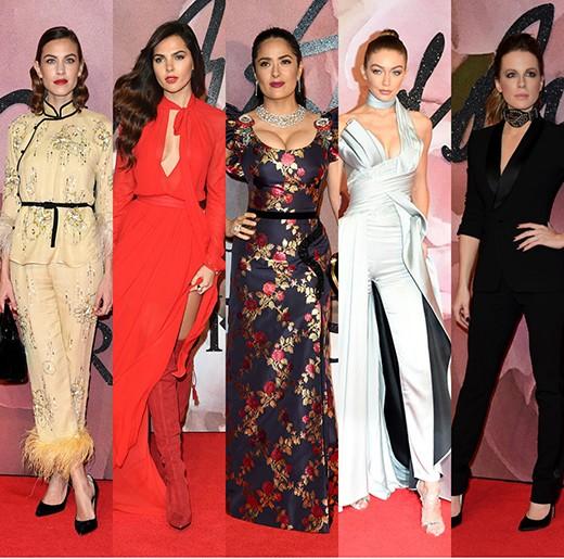 Мода  от  British Fashion Awards 2016