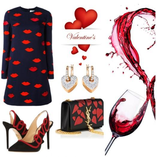 Стилна за Св. Валентин