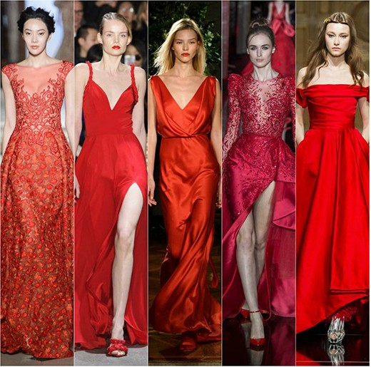 Абитуриентска мода в червено