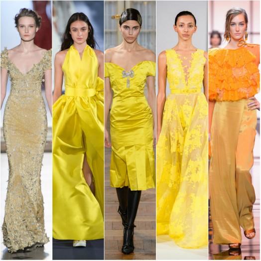 Абитуриентска мода в жълто и оранжево