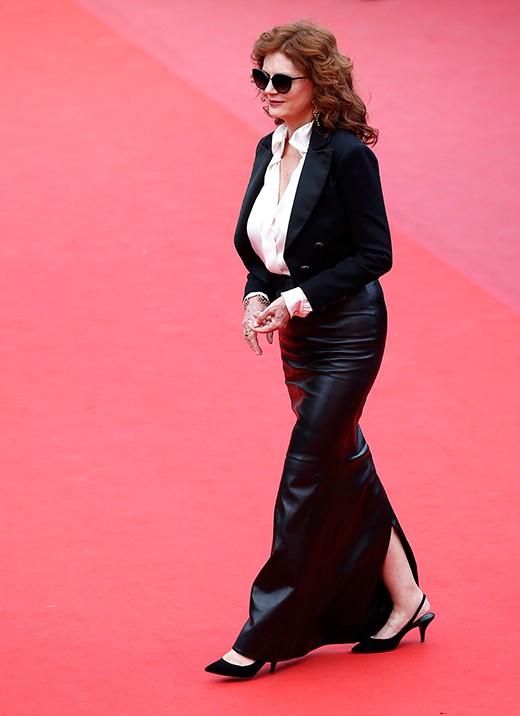 Сюзън Сарандън в сако Chanel