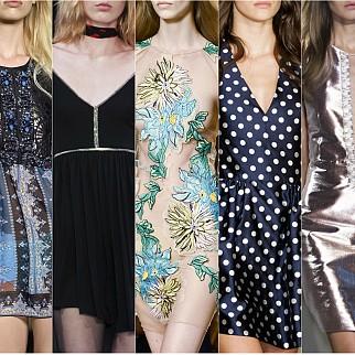 Мини рокли пролет-лято 2015