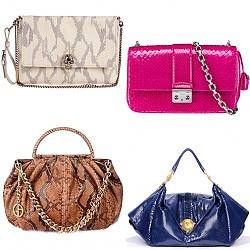 Чанти от змийска кожа