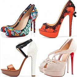 Обувки Christian Louboutin пролет/лято 2012