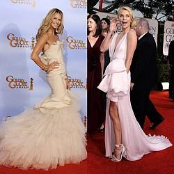 Звездни рокли Златен глобус 2012
