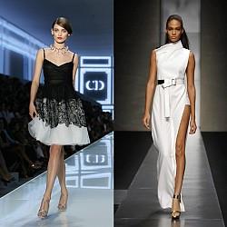 Бални рокли от модния подиум 2012