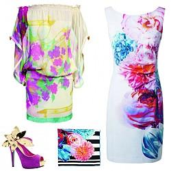 Флорален принт пролет/лято 2012