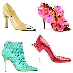 Цветни обувки пролет 2012