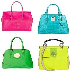 Чанти в ярки цветове