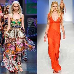 Дълги летни рокли 2012