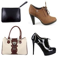 Изберете обувки и чанта