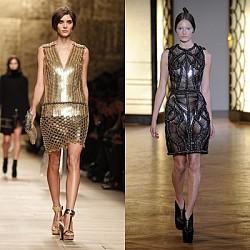 Новогодишни рокли от модния подиум