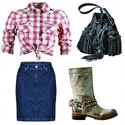 Дивия запад на модата