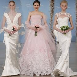 Сватбена колекция Oscar de la Renta 2014