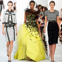Седмица на модата в Ню Йорк: Oscar de la Renta пролет 2014