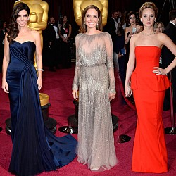 Звездни рокли Оскари 2014