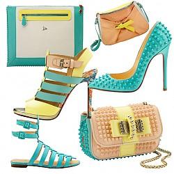 Christian Louboutin - обувки и чанти пролет/лято 2014