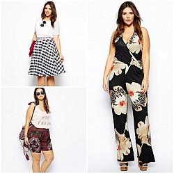 Мода за пълни дами за лято 2014