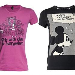 Тениски с анимации