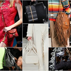 Дамски чанти от модния подиум за есен/зима 2014-15