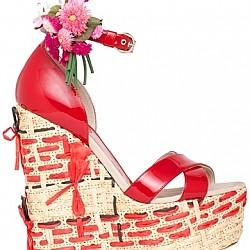 Цветни сандали лято 2011