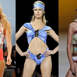 Бански костюми от модния подиум