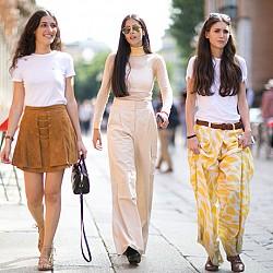 45 street style  визии от Милано