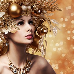 На лов за подаръци: Обсипана в злато