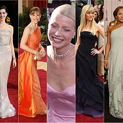 """Най-красивите рокли на """"Оскарите"""" през годините"""