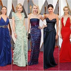 Блясък и стил от червения килим на Оскари 2016