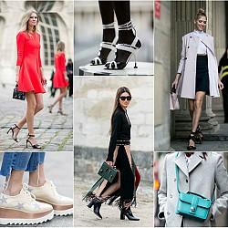 100 street style визии от  Париж