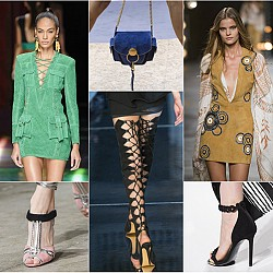 Велур на модната сцена този сезон