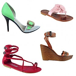 Летни обувки на супер цени