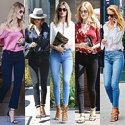 26 начина да носим дънки като Роузи Хънтингтън-Уайтли