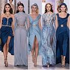 Абитуриентска мода в синьо