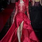 Рокля в червено от  Zuhair Murad