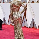 Джесика Бийл в рокля на KaufmanFranco