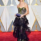 Джорджия Чапман в рокля Marchesa