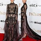 Анджела Сарафян в рокля на Reem Acra