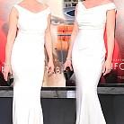 Катрин Хейгъл в рокля на  Blumarine
