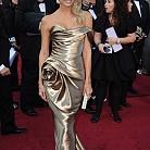 Стейси Кейблър с рокля Marchesa
