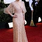 """Скарлет Йохансон на наградите """"Златен глобус"""" 2011"""