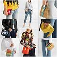 30 малки цветни чанти