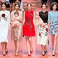 Dolce&Gabbana есен-зима 2015-2016